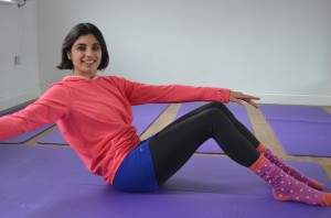 Pilates with Priya - 1/2 roll back with rotation